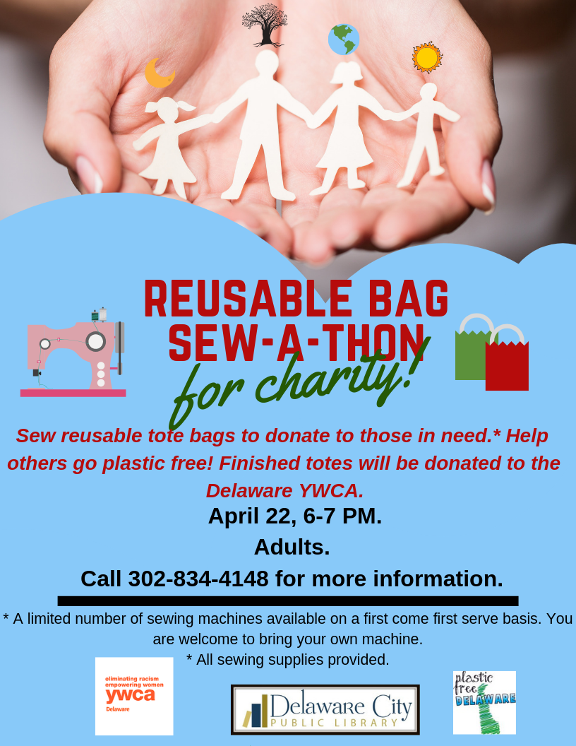 Reusable Bag Sew-a-Thon for Charity