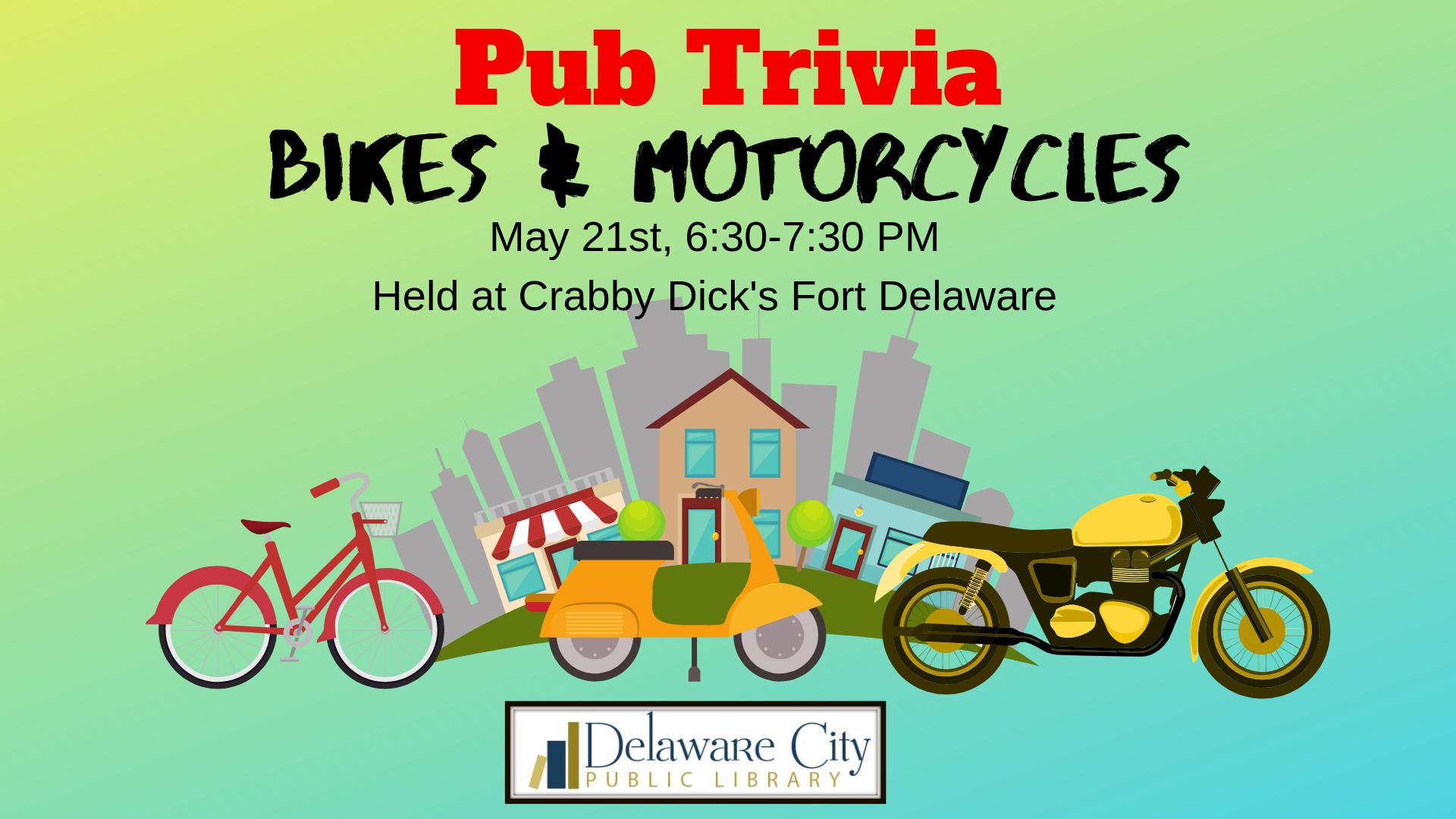 Pub Trivia: Bikes & Motorcycles