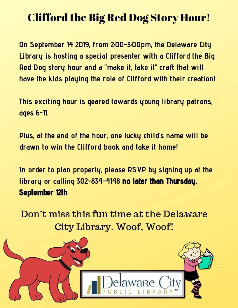 Clifford the Big Red Dog Story Hour