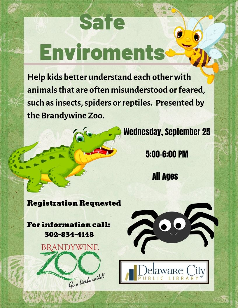 Safe Environments with Brandywine Zoo
