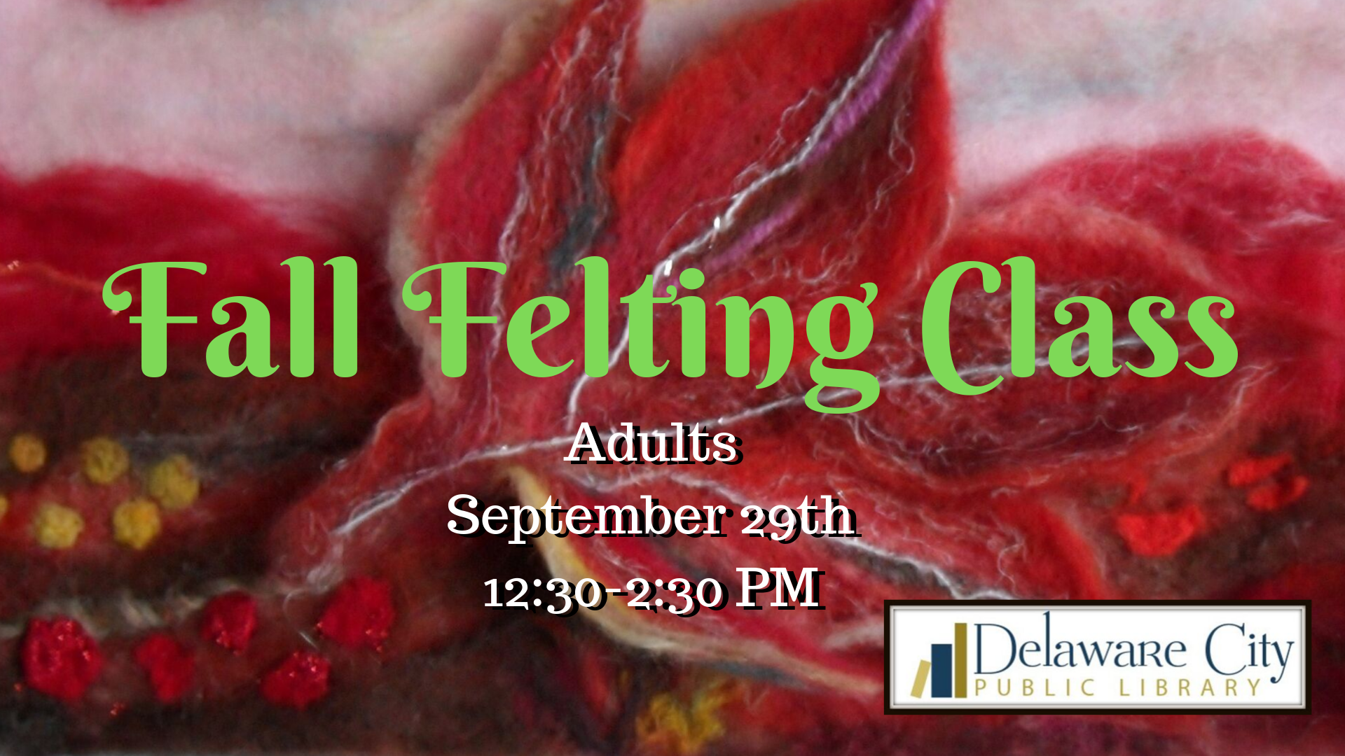 Fall Felting Class