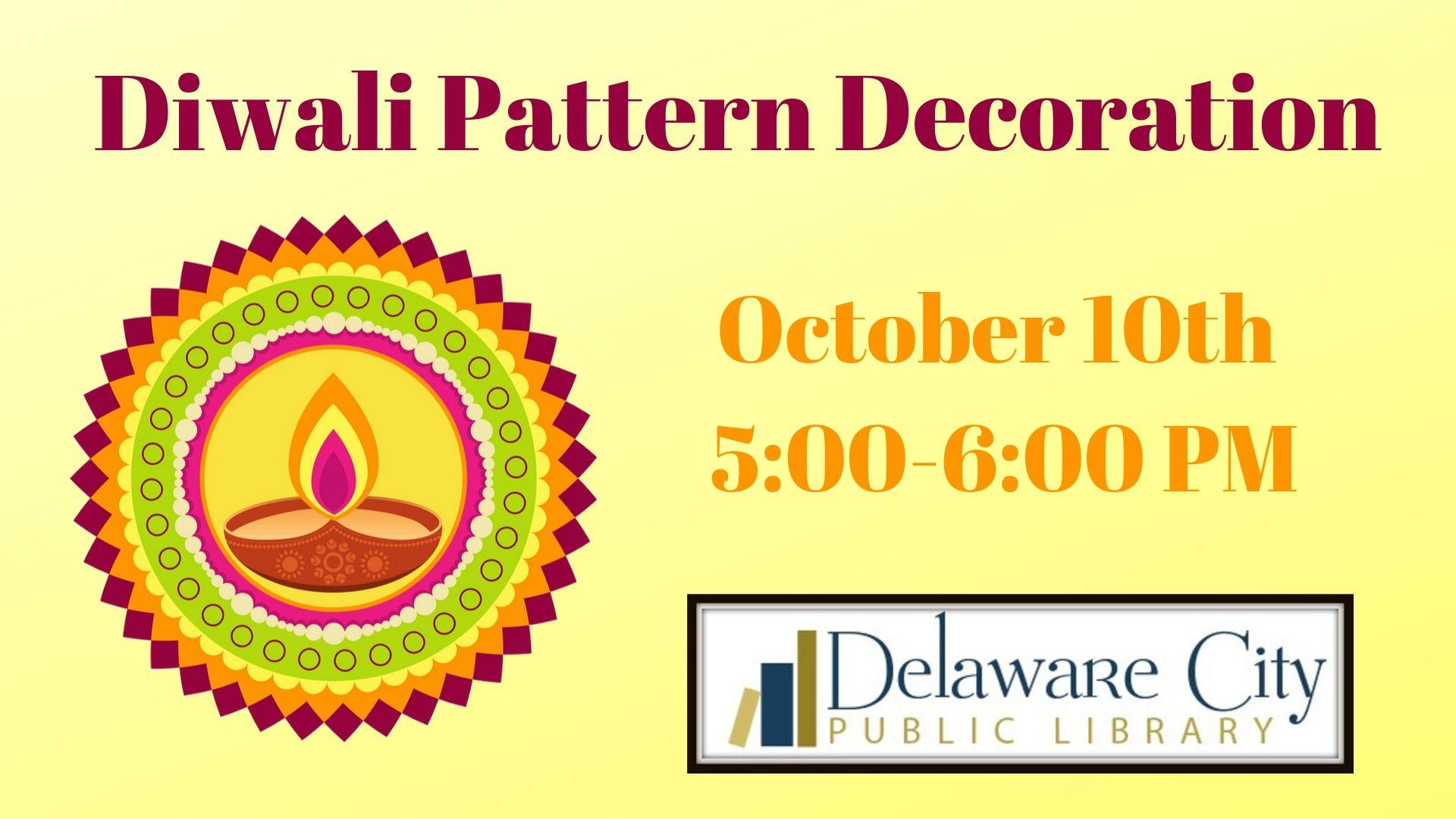 Diwali Pattern Decoration