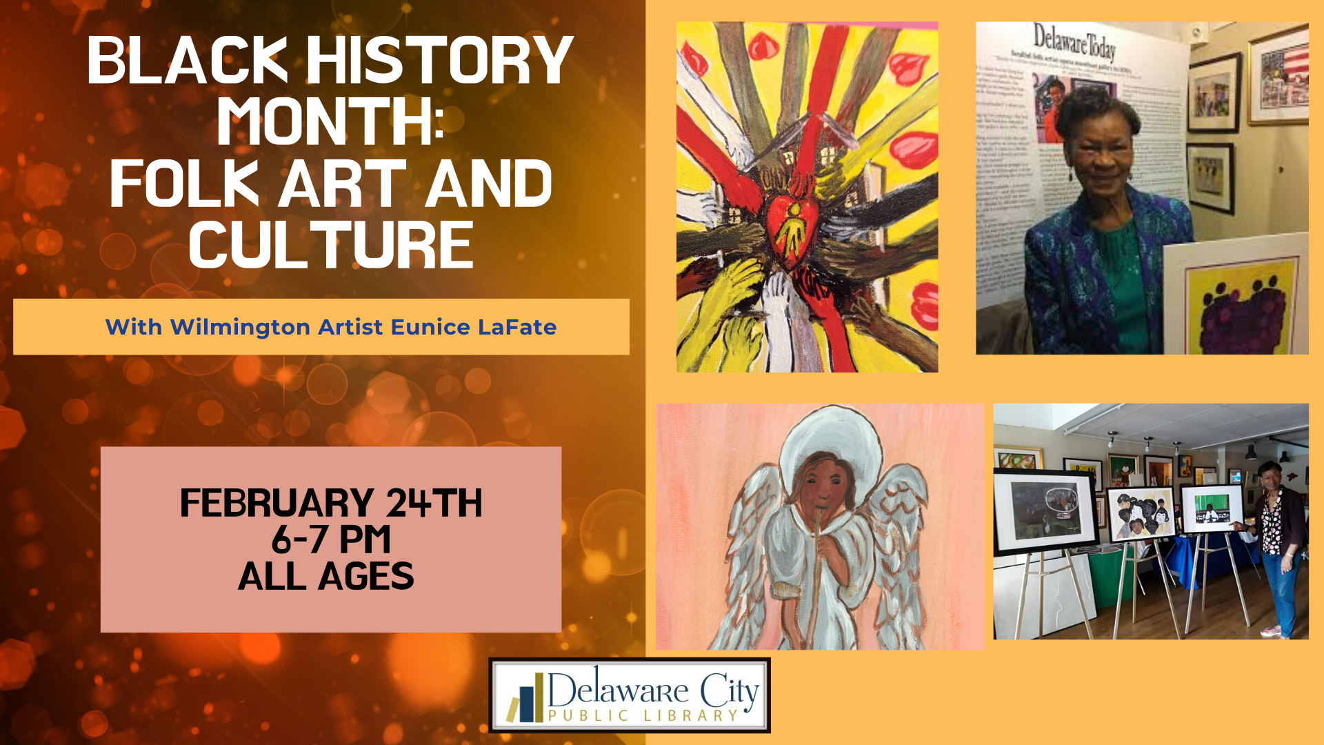 Black History Month: Folk Art and Culture