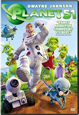 Lunch and a Movie - Planet 51