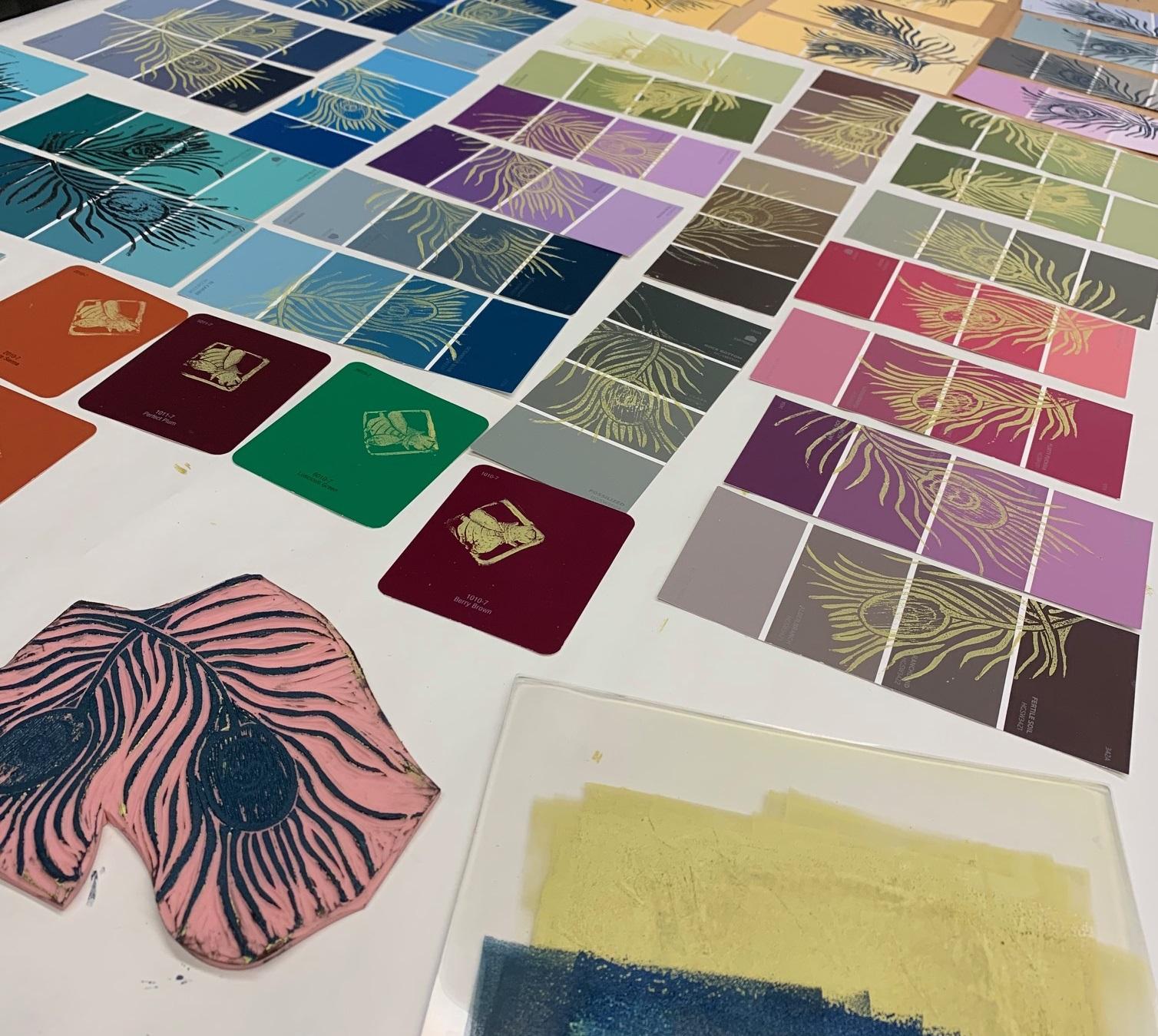 Peace Week: Colors of Love Stamp Program