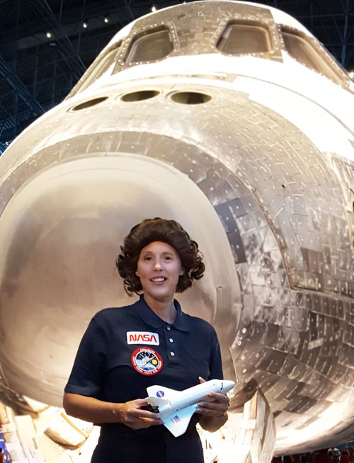 "History Alive! presents ""Sally Ride: Reach for the Stars!"""