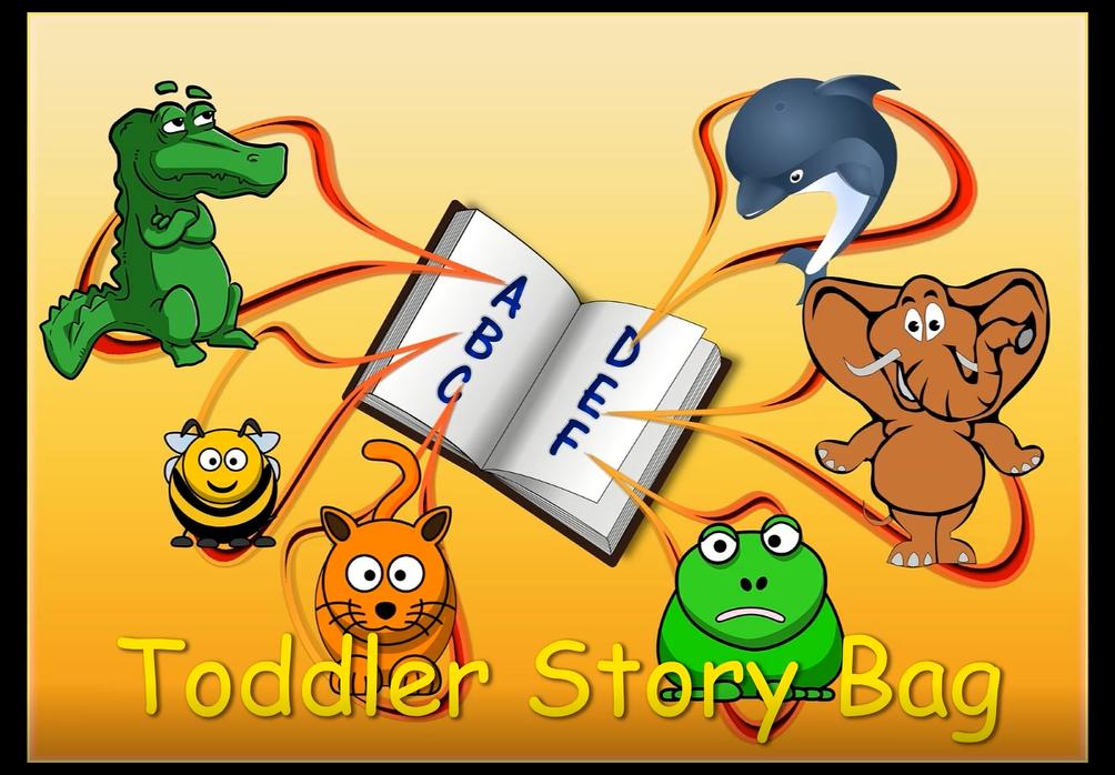 Toddler Story Bag (Curbside Pickup)