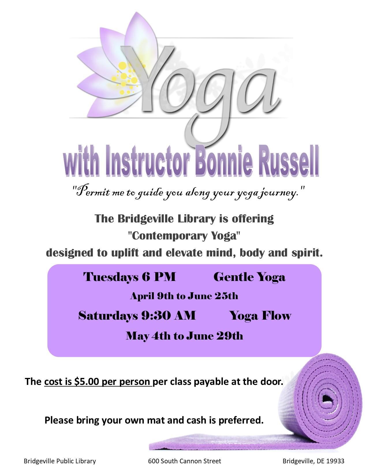 Gentle Yoga with Bonnie