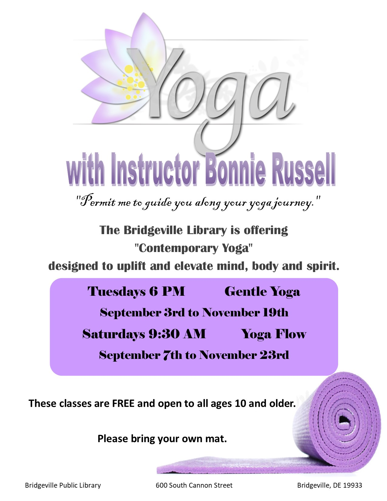 Gentle Yoga with Bonnie