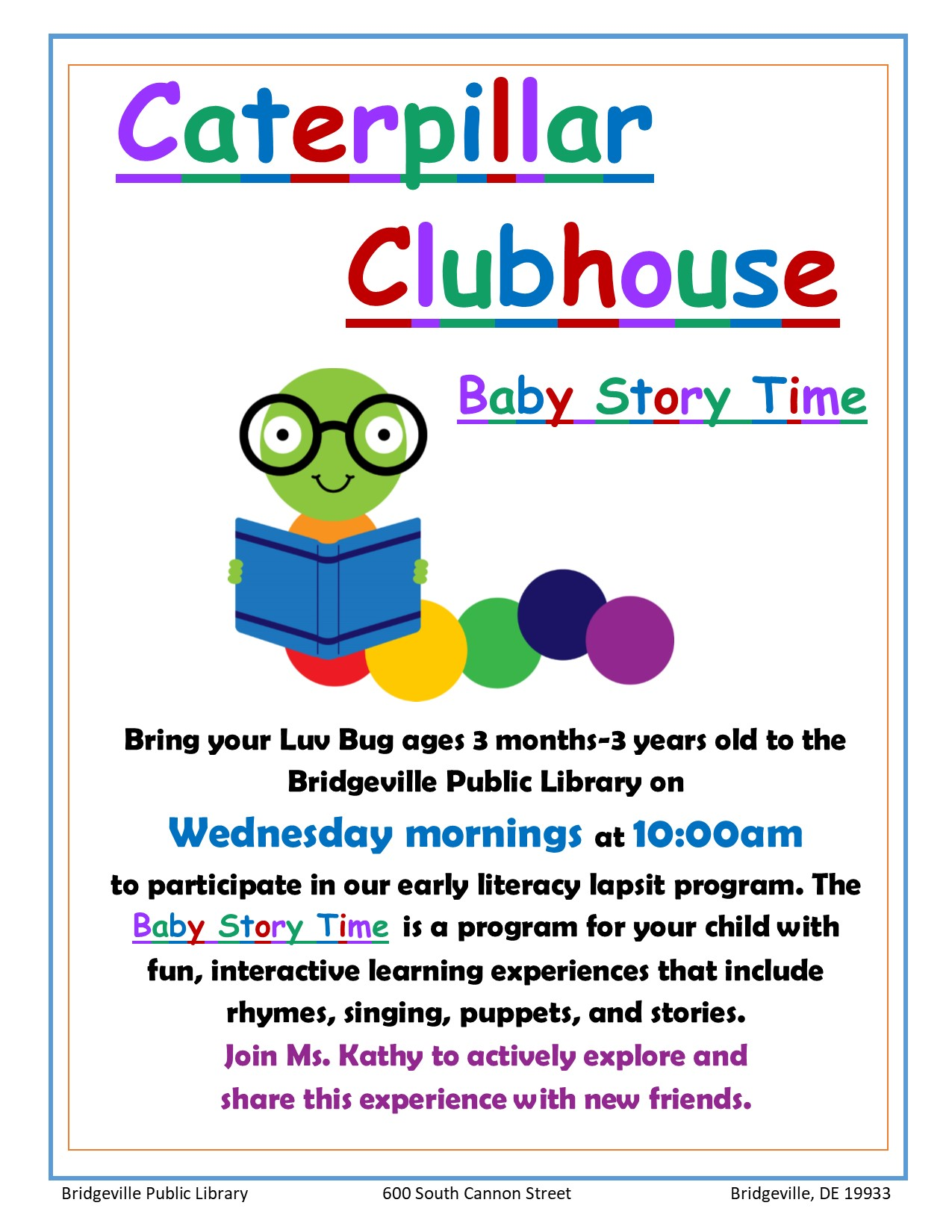 Caterpillar Clubhouse-cancelled