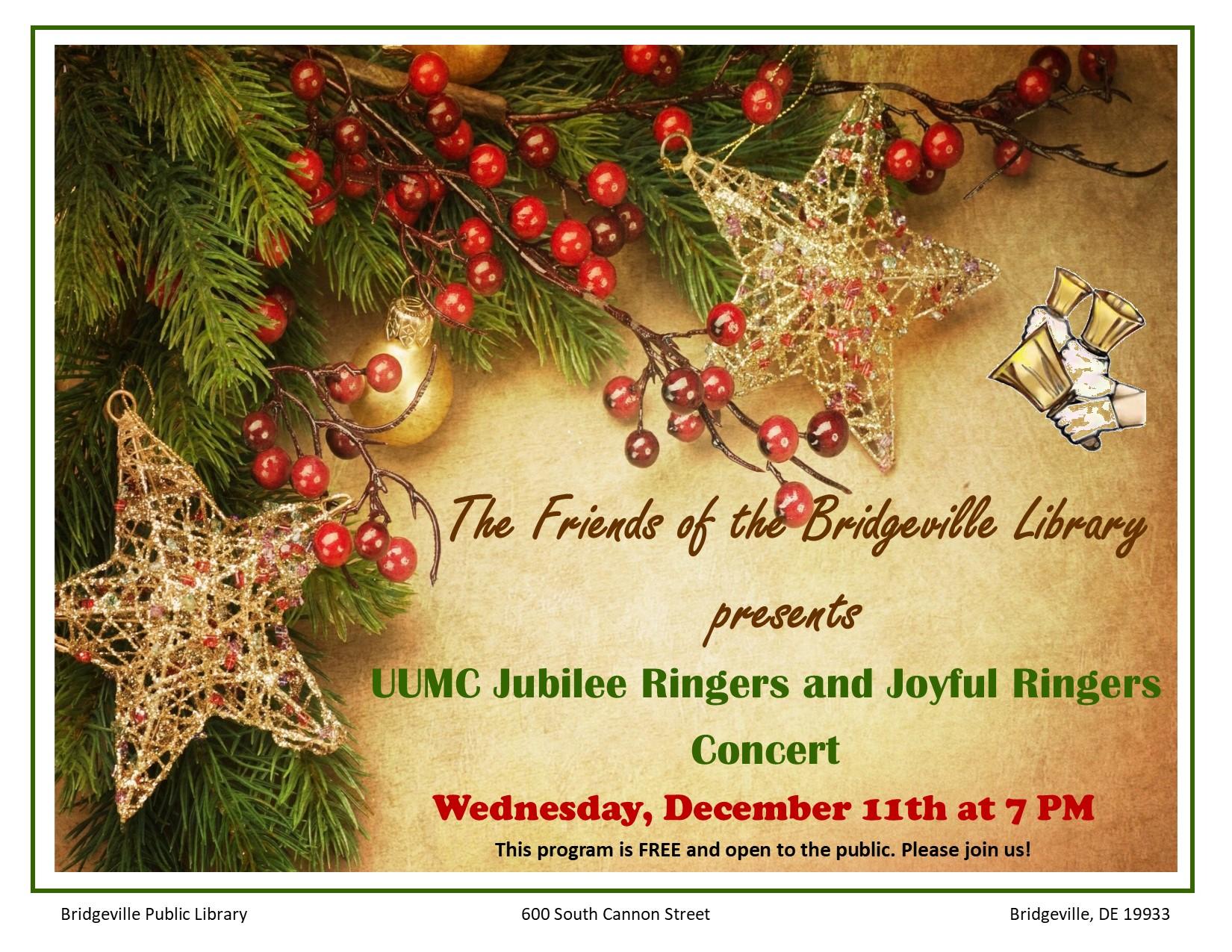 UUMC Bell Choir Concert