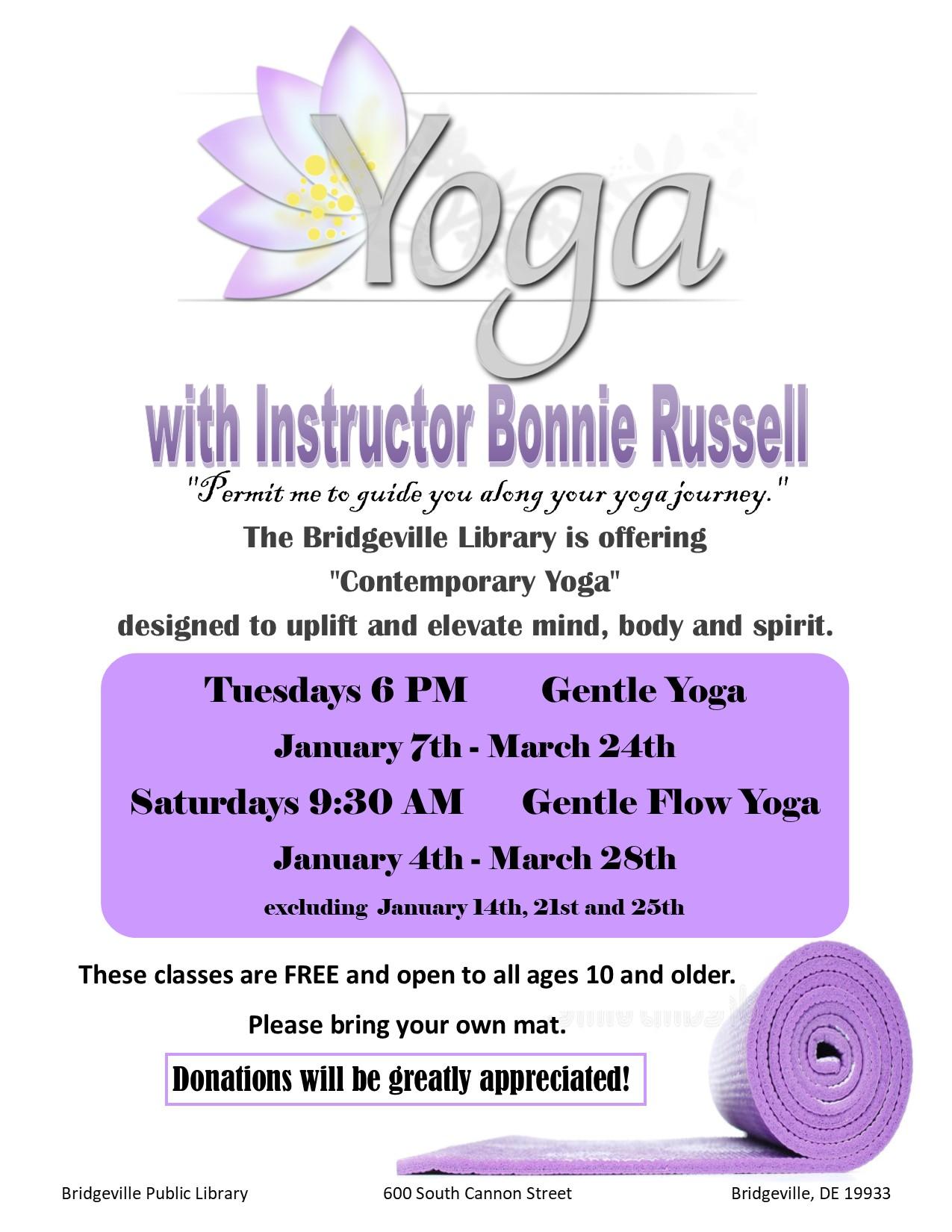 Gentle Flow Yoga with Bonnie