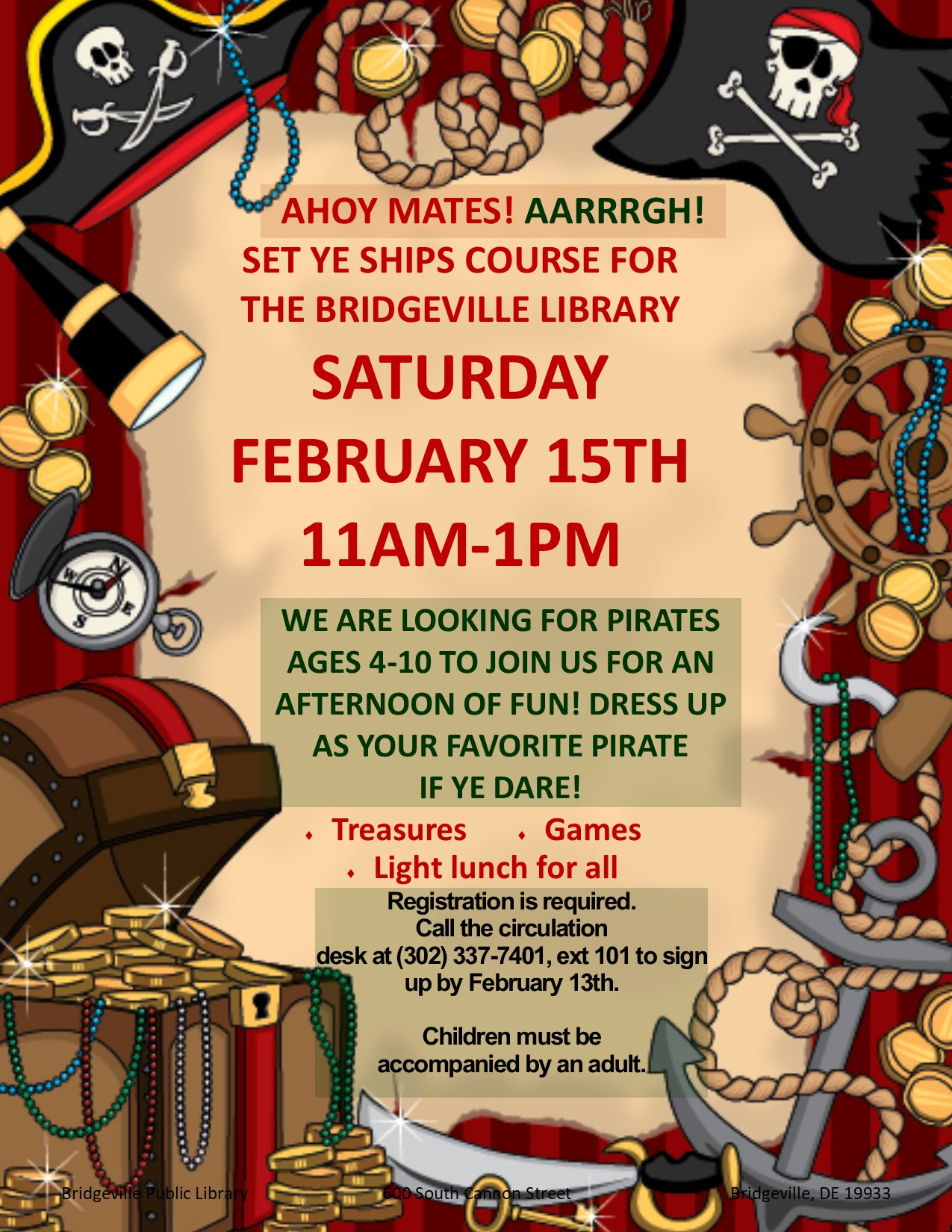Pirate Adventure Party