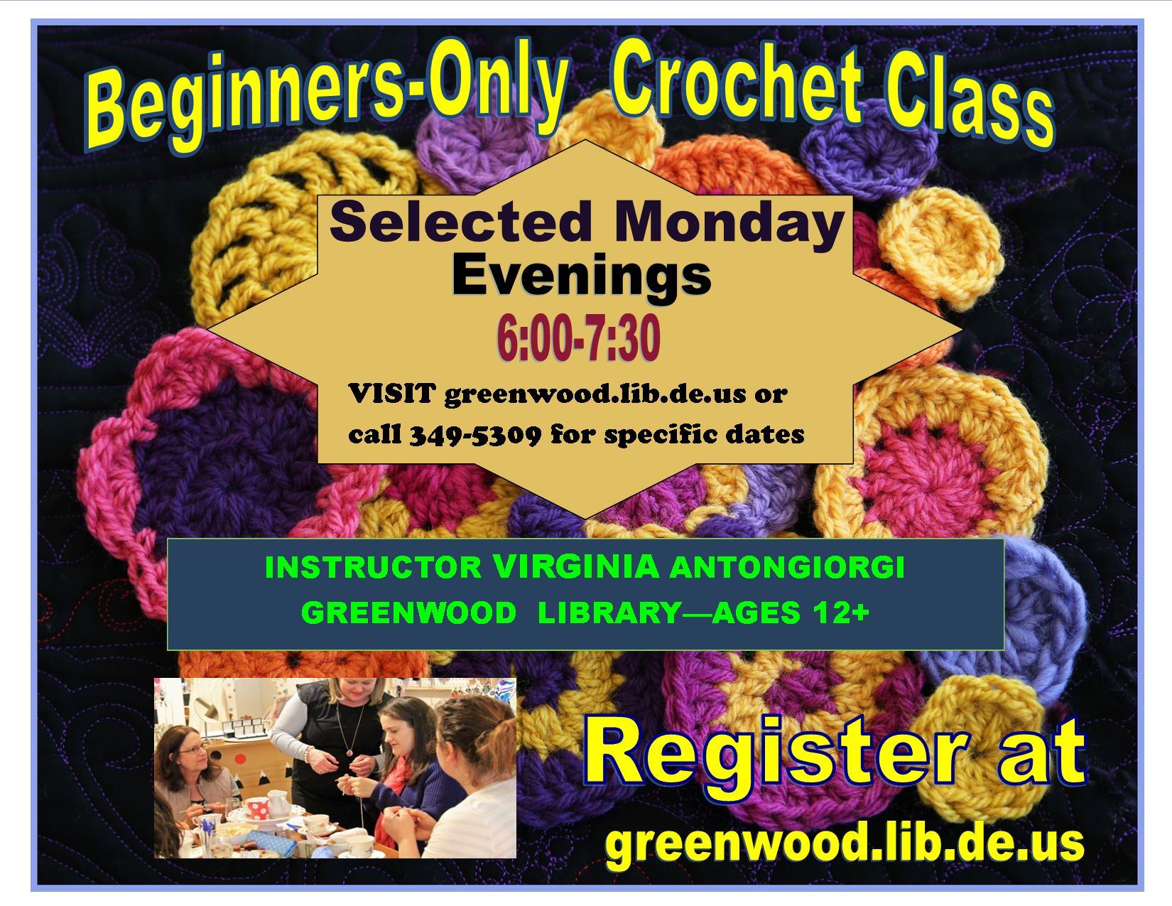 Beginner's Crochet Class