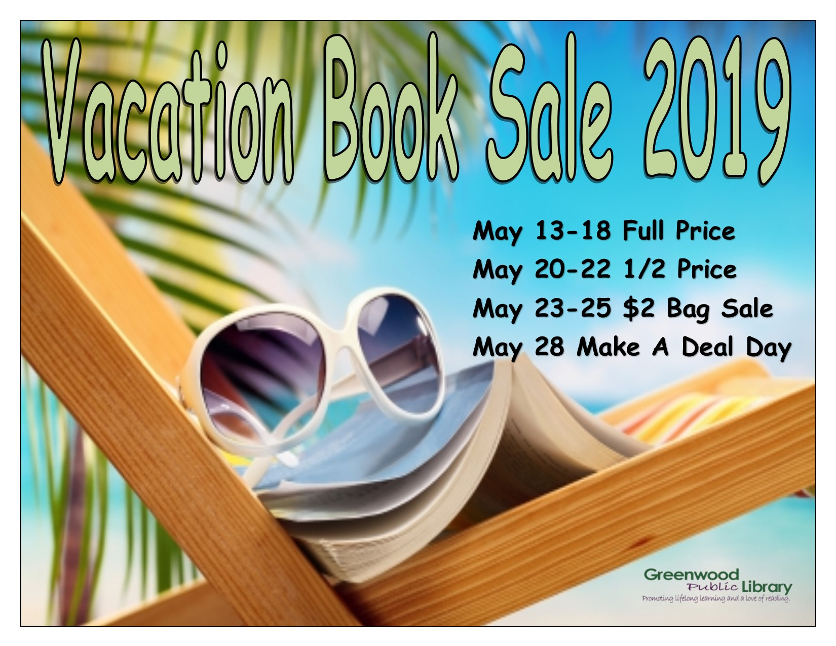 Vacation Book Sale