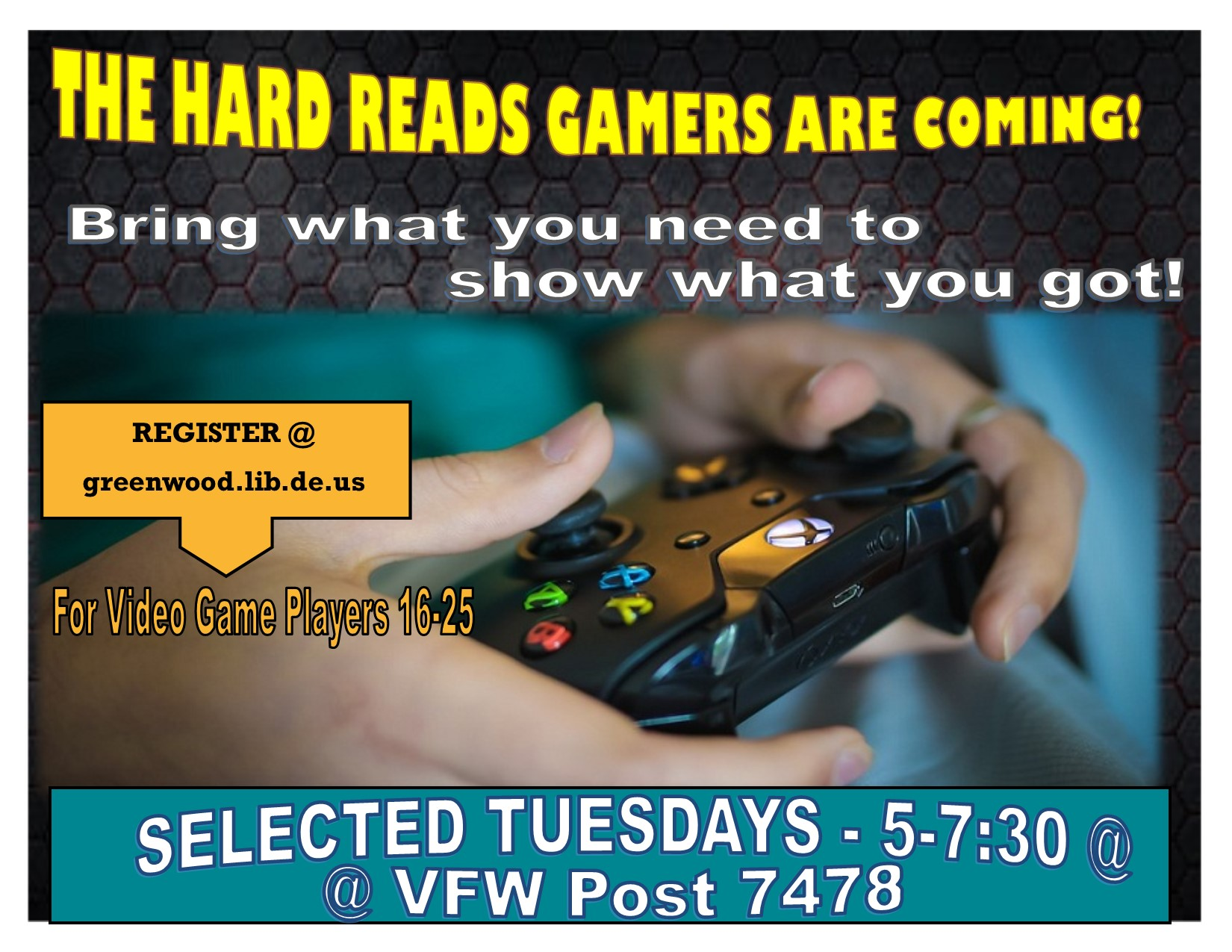 Hard Reads Gamers