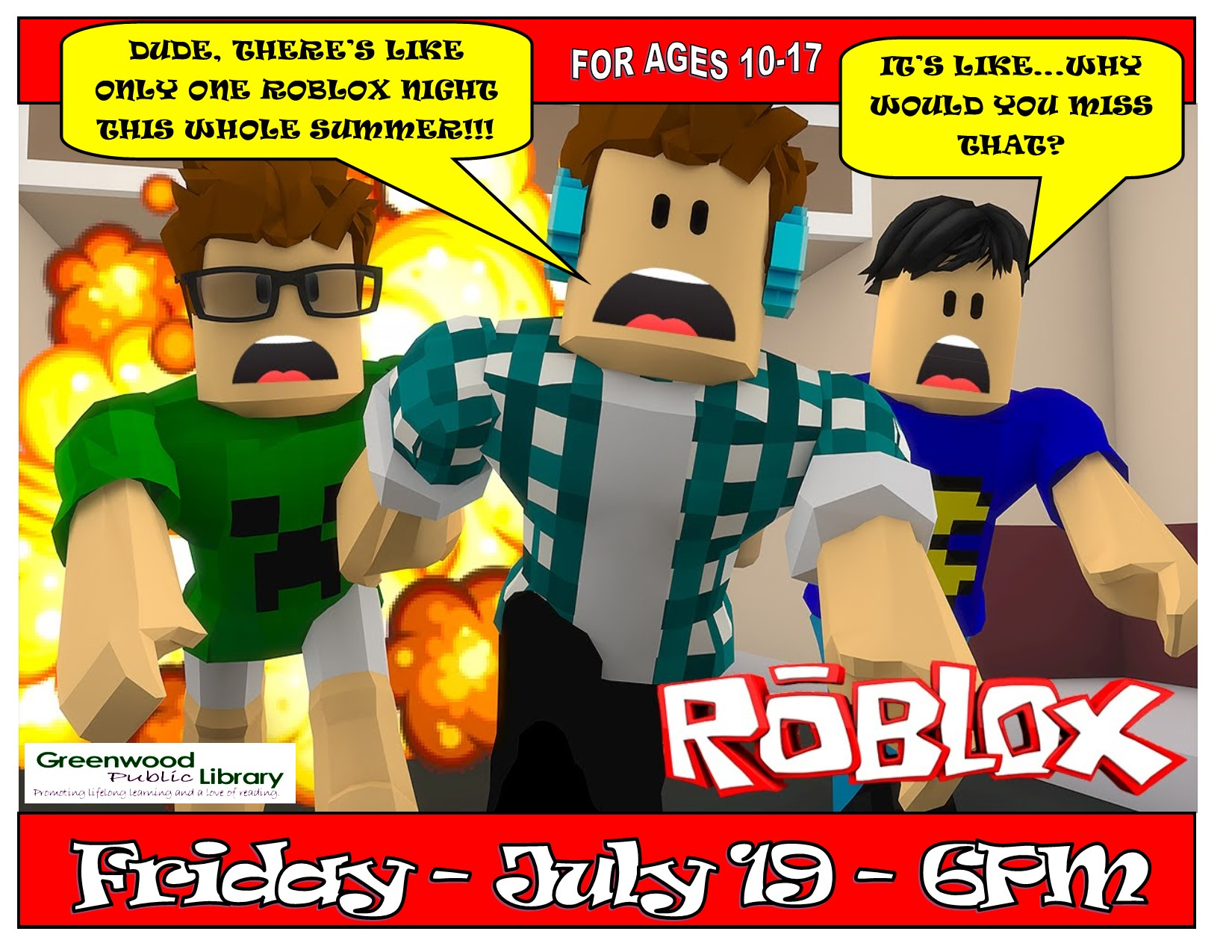 Roblox Night for Teens and Tweens