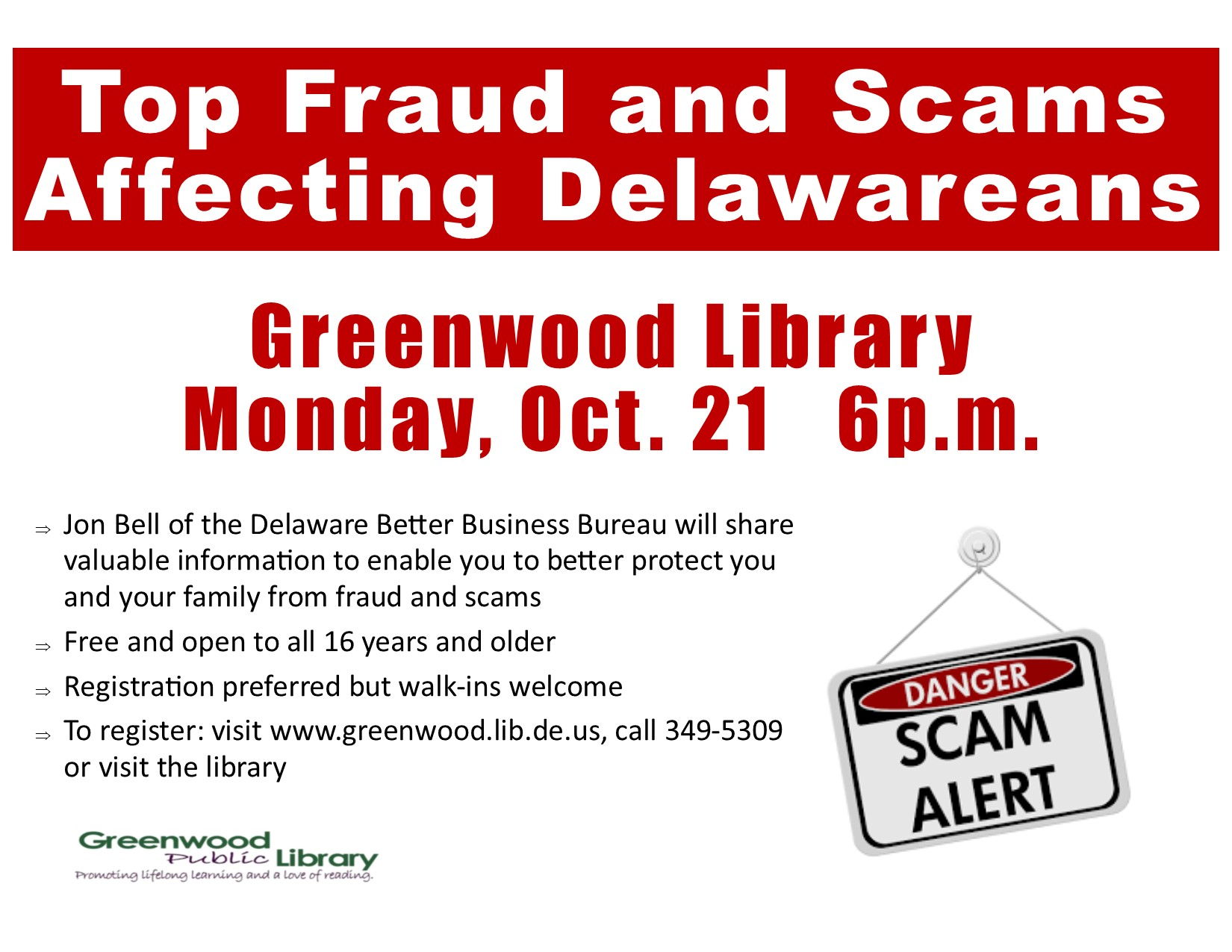 Top Frauds and Scams Affecting Delawareans