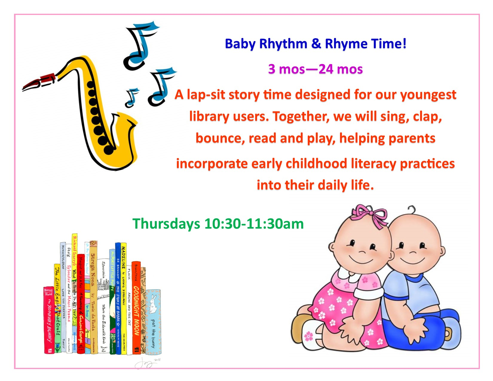 Baby Rhythm and Rhyme Time