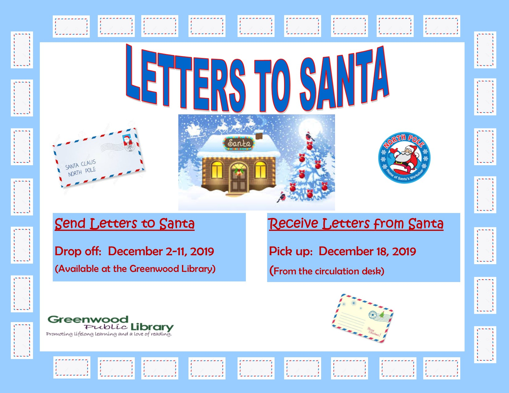 CANCELLED - Letters to Santa