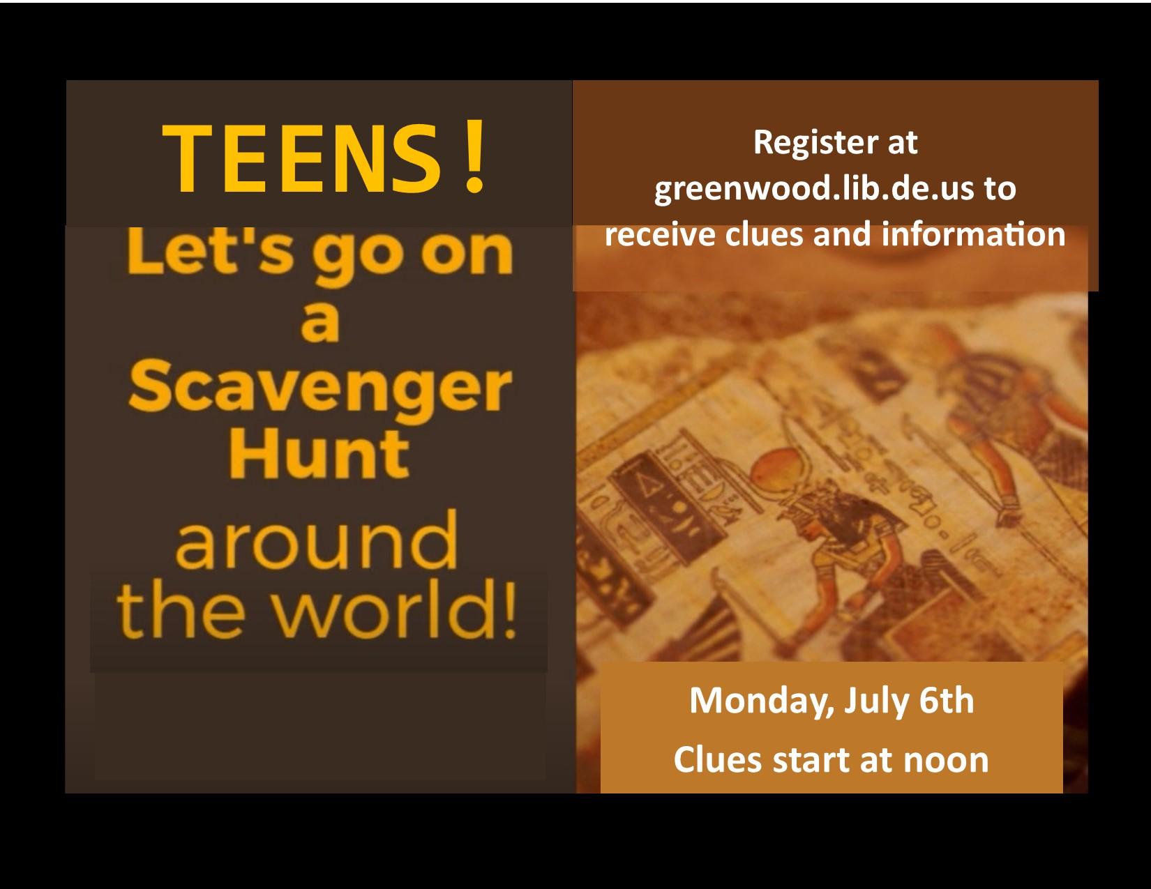 Greenwood Library Hosts Google Earth Scavenger Hunt