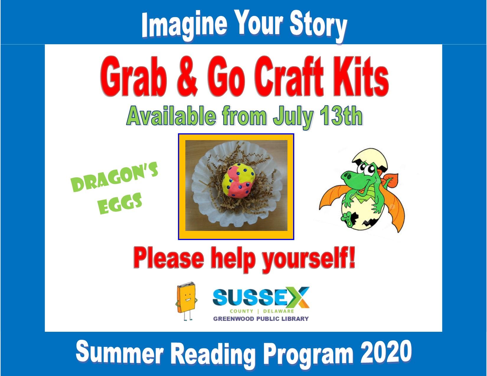 Grab & Go Craft Kits: Dragon's Eggs