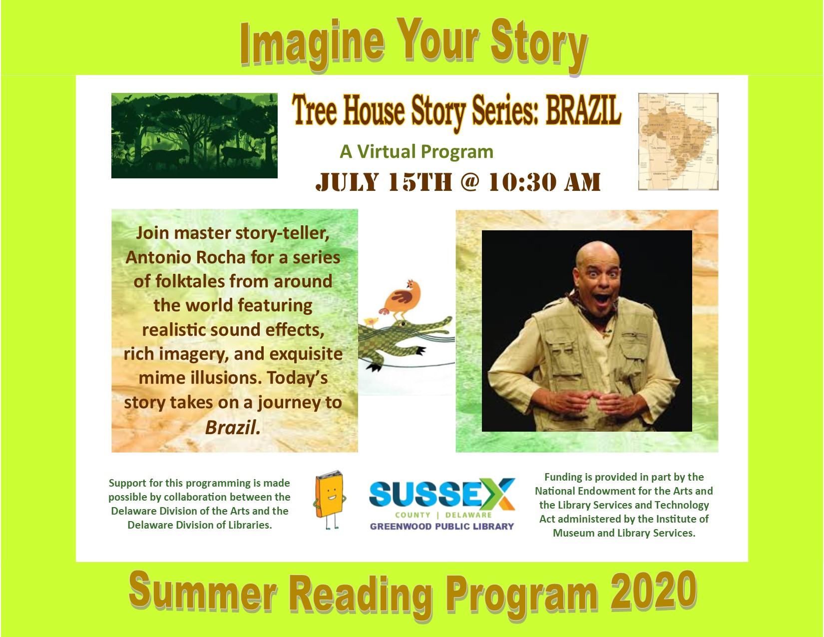 Antonio Rocha: Tree House Story Series, BRAZIL