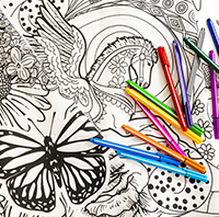Color Me Relaxed - Adult Coloring Club