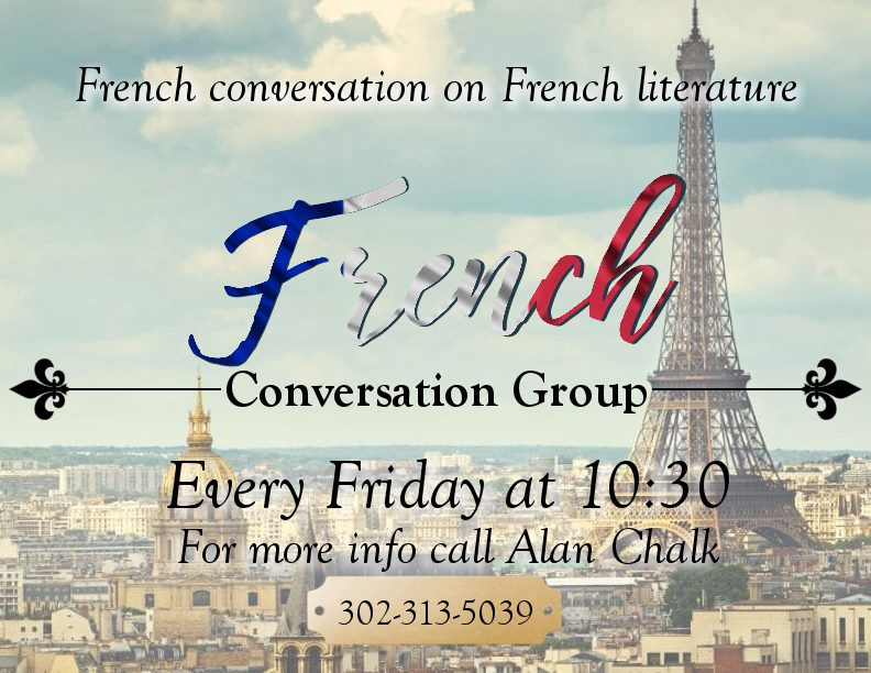 French Conversation Group - CANCELLED