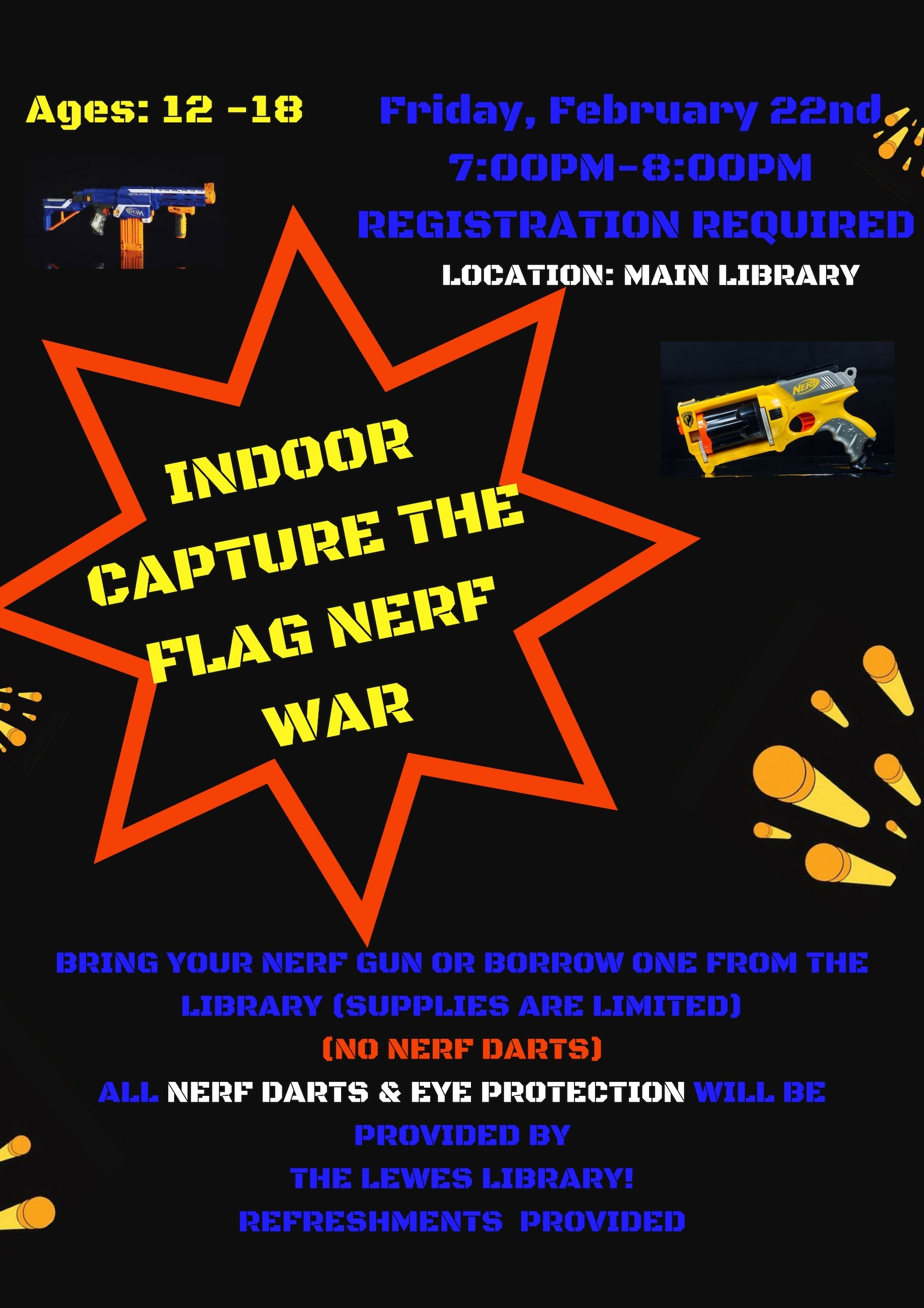 Teen Nerf Wars