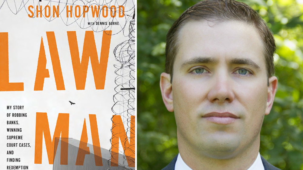 Taking a Stand Lecture Series - Shon Hopwood: Memoir of a Jailhouse Lawyer