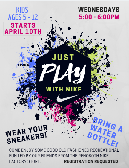 Just PLAY with NIKE