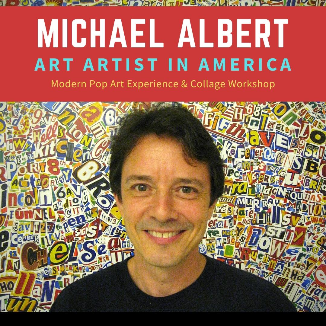 Homeschool Connection - The Modern Pop Art Experience, with Artist Michael Albert