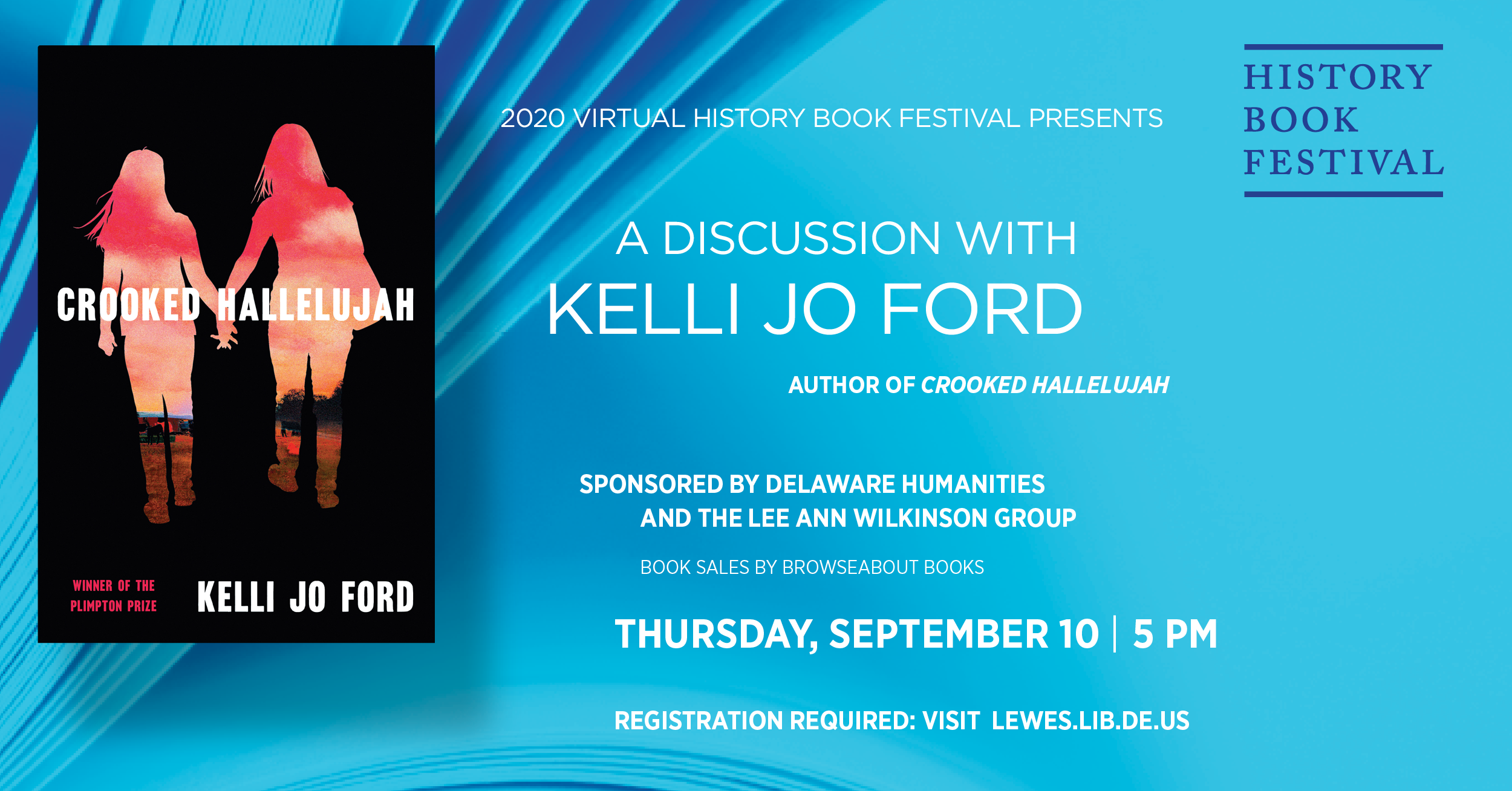 History Book Festival presents Kelli Jo Ford | Crooked Hallelujah