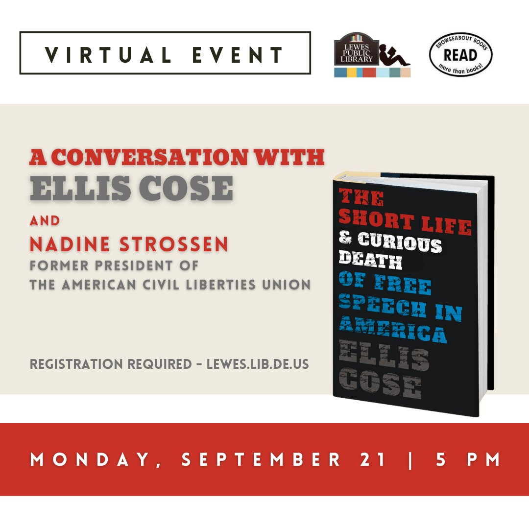 Conversation with Ellis Cose | The Short Life & Curious Death of Free Speech in America