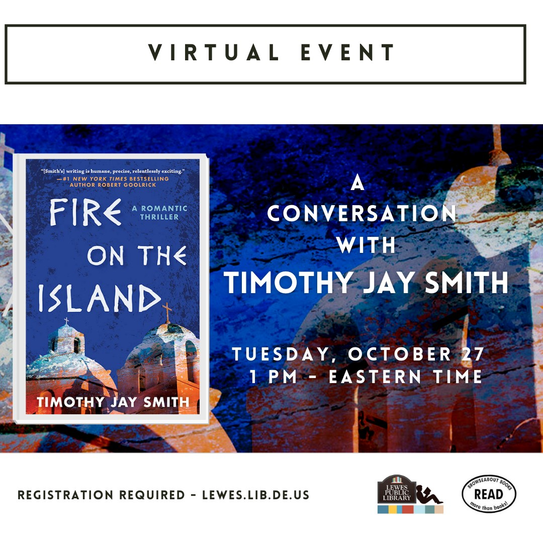 Conversation with Timothy Jay Smith | Fire on the Island