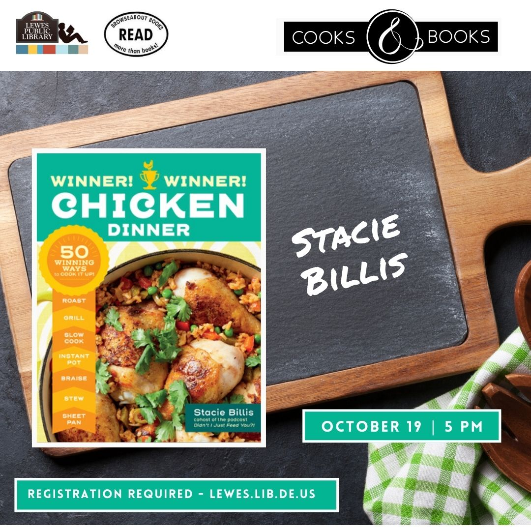Cooks & Books Presents Stacie Billis | Winner! Winner! Chicken Dinner