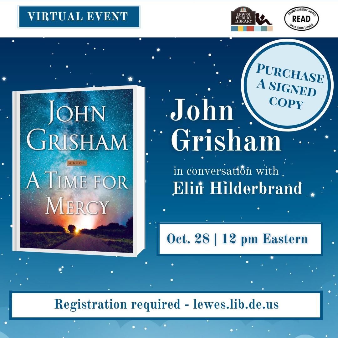 Conversation with John Grisham and Elin Hilderbrand