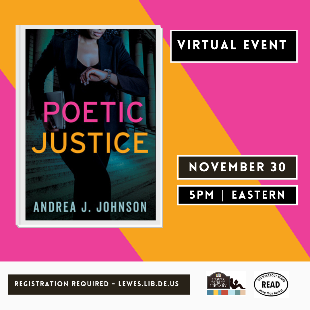 Conversation with Andrea J. Johnson | Poetic Justice