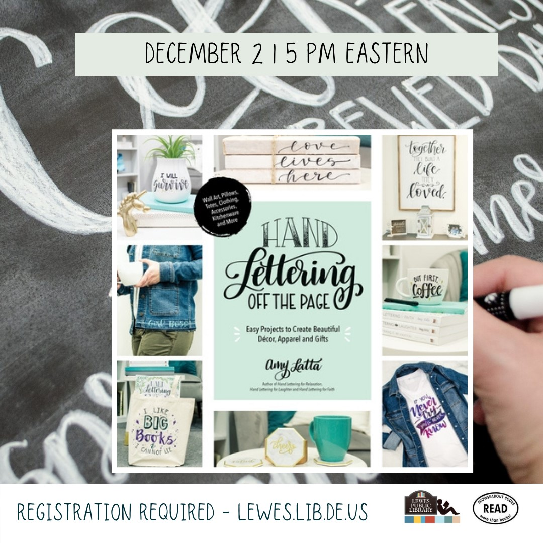 Happy Hour with Amy Latta | Hand Lettering Off the Page