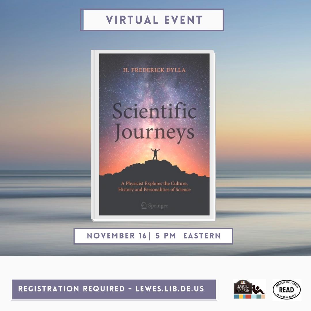 Conversation with Fred Dylla | Scientific Journeys