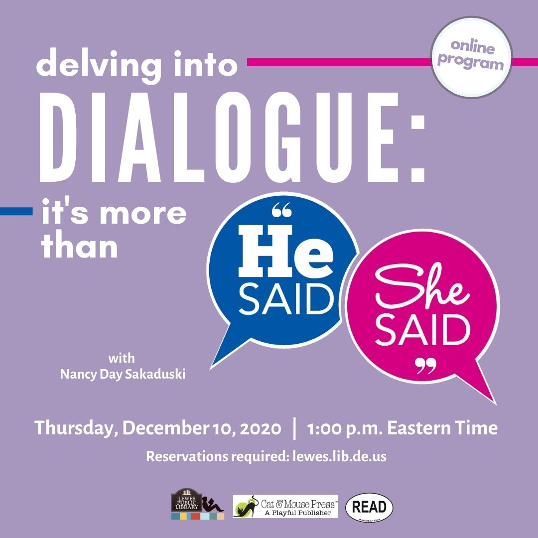 """Delving into Dialogue: It's More Than """"He Said, She Said"""""""