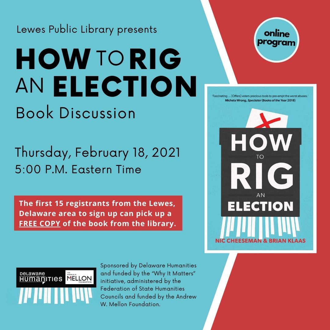 How To Rig an Election | Book Discussion