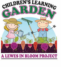 Garden Story Time in the Children's Learning Garden with Lewes in Bloom