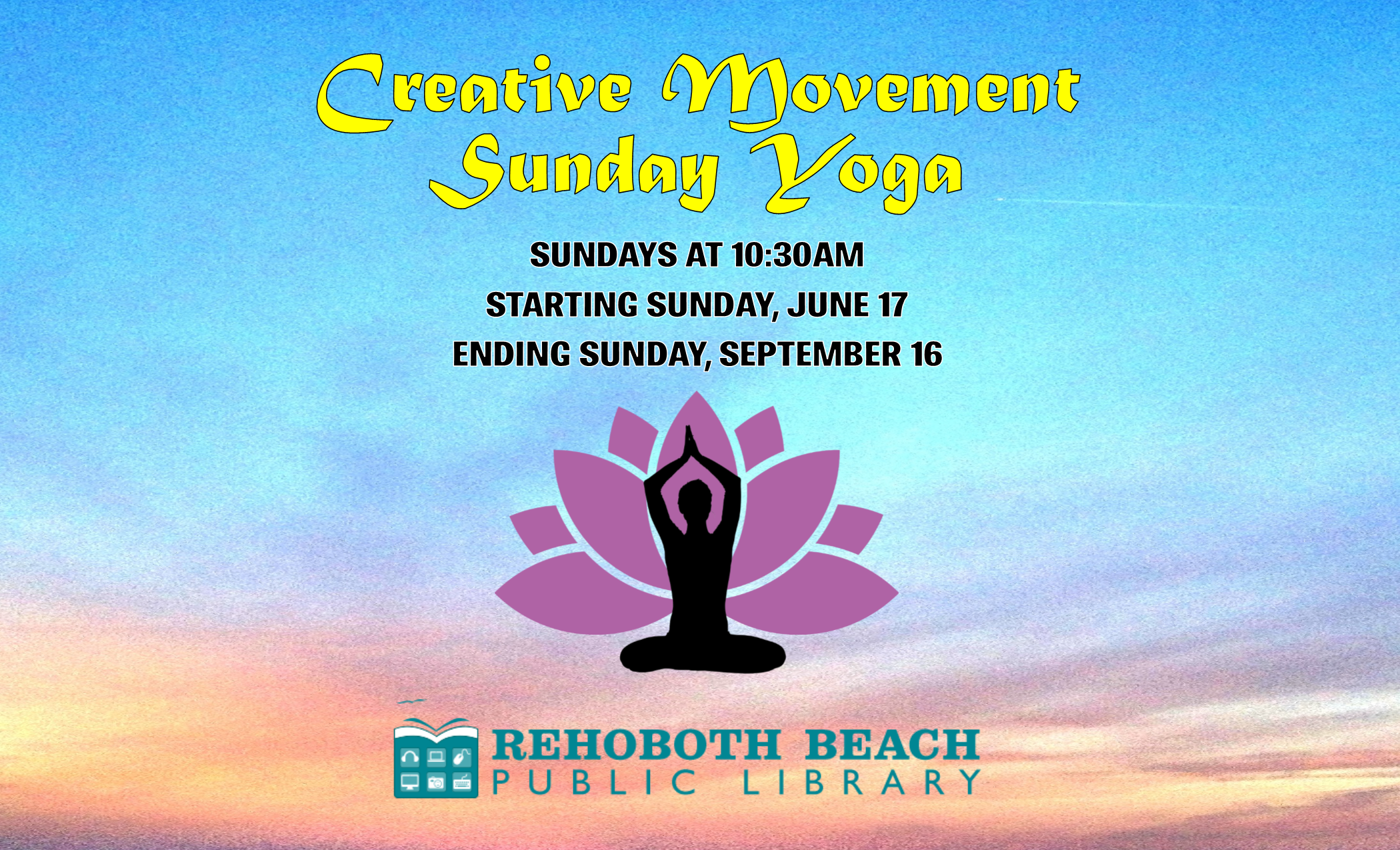 Creative Movement Sunday Yoga