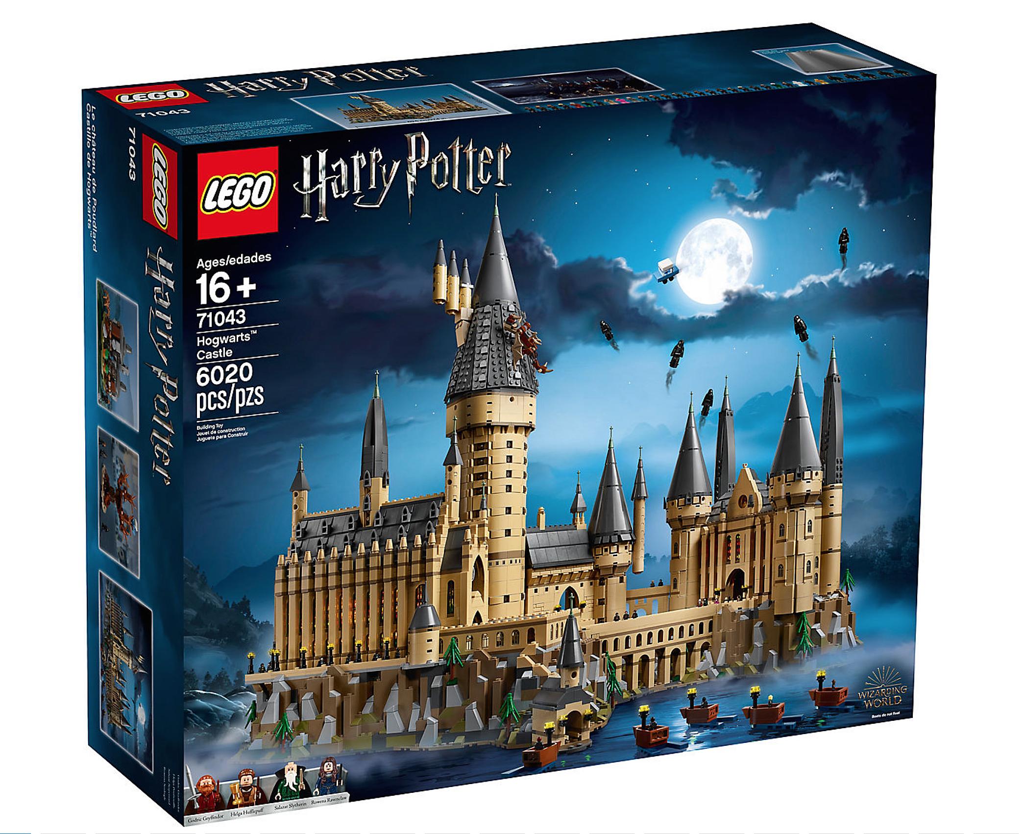 Homeschool Harry Potter Lego Build