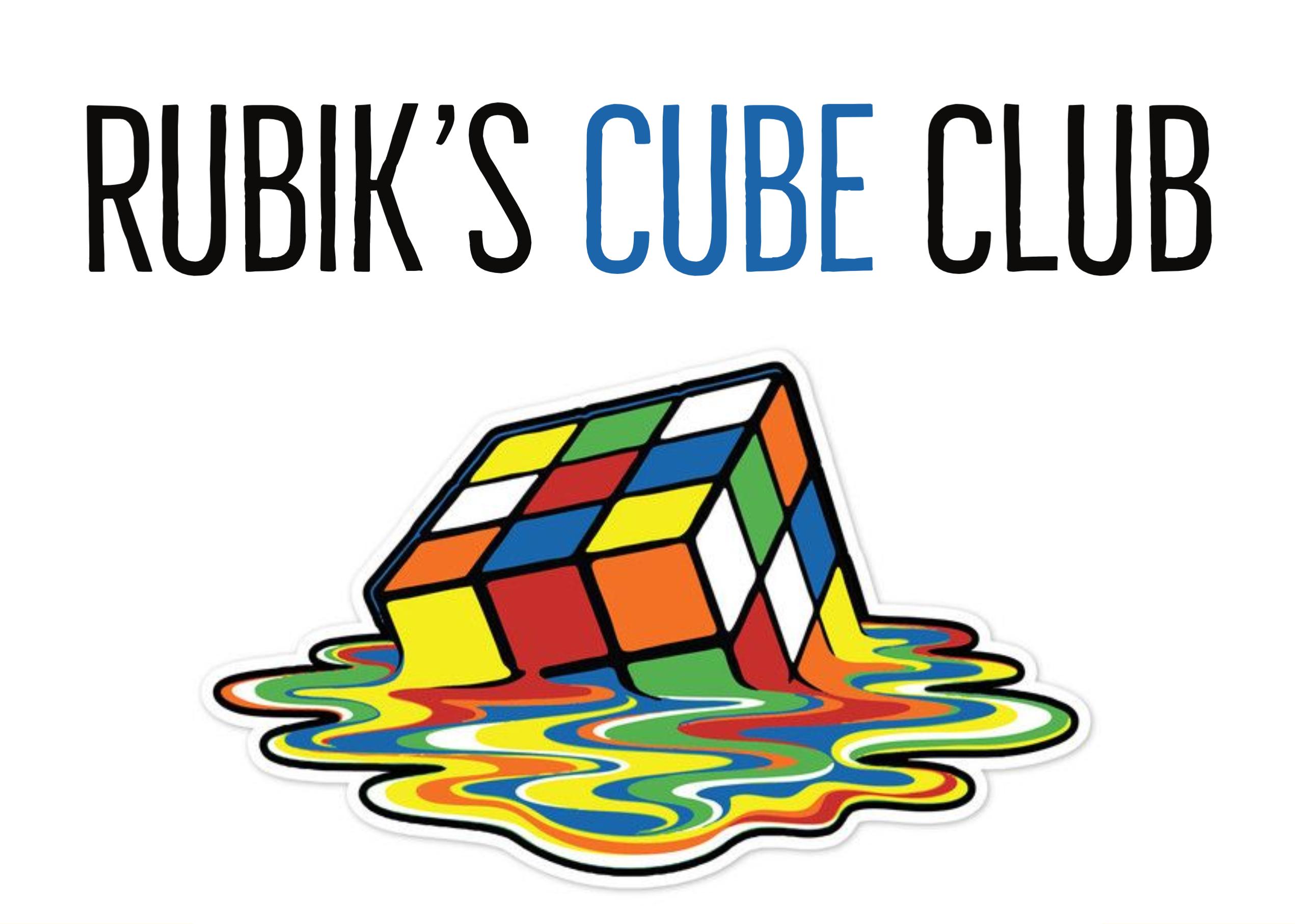 Rubik's Cube Club Milford Library