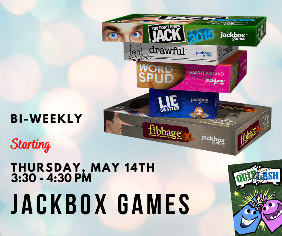 JackBox Games with the Bear Library