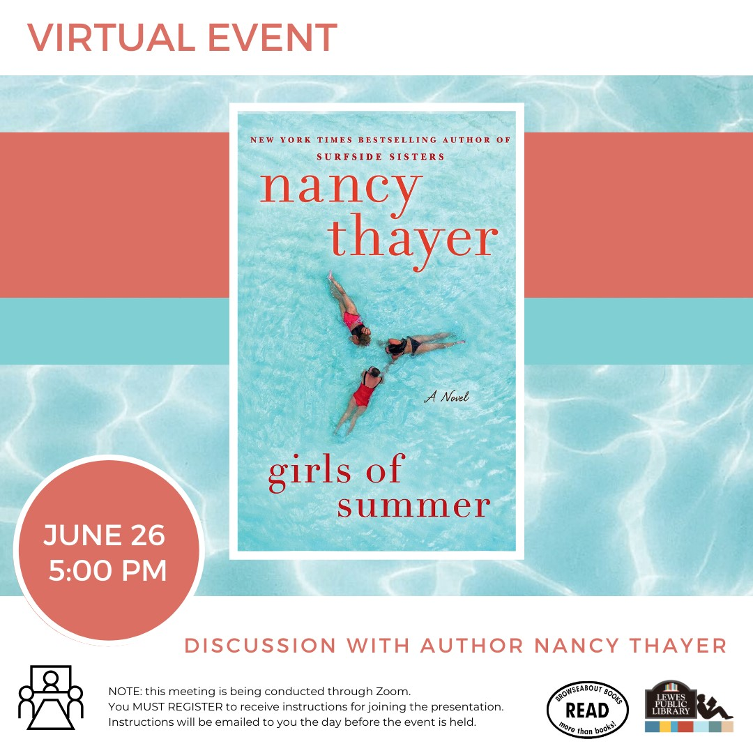 Happy Hour with Author Nancy Thayer | Girls of Summer