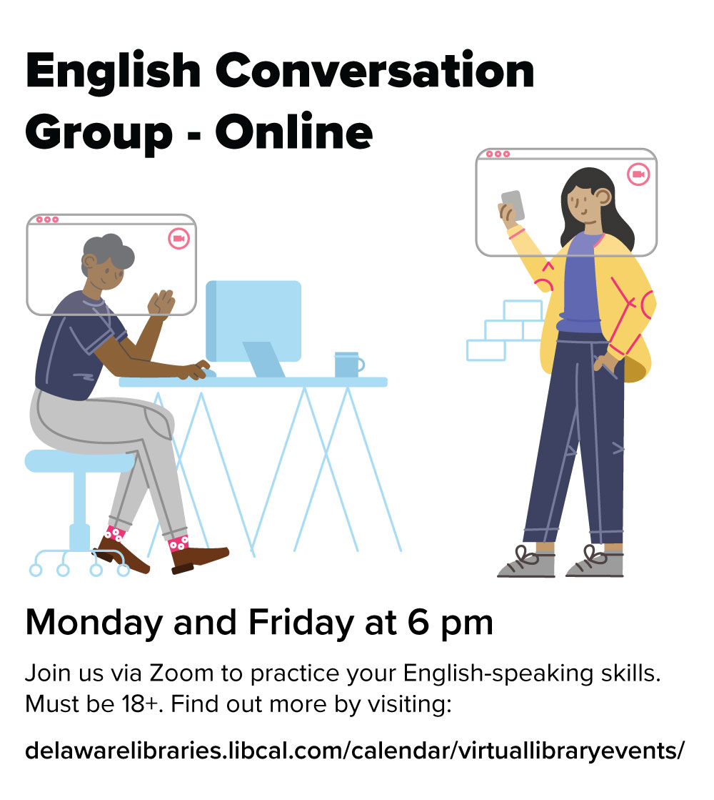 Grupo de Conversación en Inglés (English Conversation Group)
